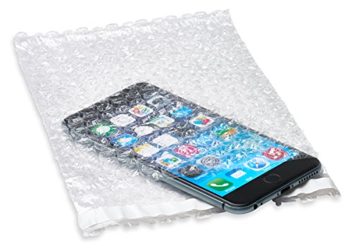 """Discount 250 pcs 6x8.5 SELF-SEAL CLEAR BUBBLE OUT POUCHES BAGS 3/16"""" WRAP for cheap"""