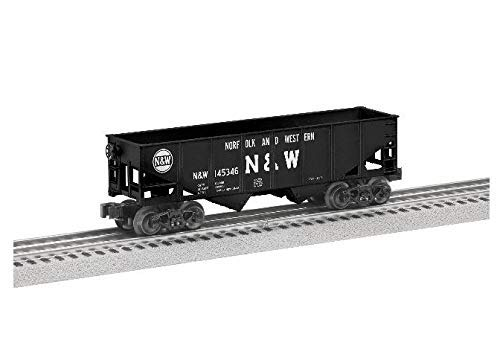 Gauge Hopper Car - Lionel Norfolk & Western Hopper, Electric O Gauge Model Train Cars, 6-Pack