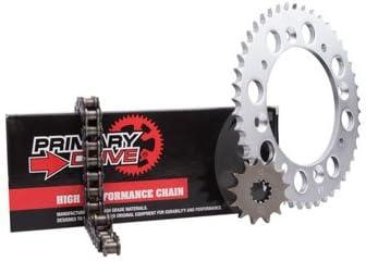 Primary Drive Steel Kit /& 428 C Chain for Kawasaki KLX125L 2003-2006