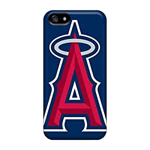 Best Cell-phone Hard Covers For Iphone 5/5s (GOH16115xDNY) Support Personal Customs Colorful Los Angeles Angels Pattern