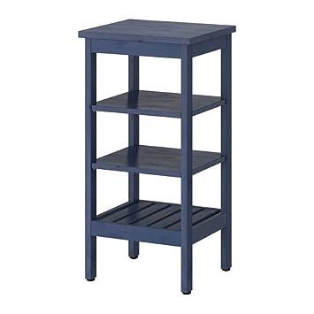 IKEA HEMNES -Regal blau - 42x84 cm: Amazon.de: Küche & Haushalt