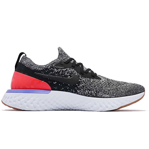 Nike Epic React Flyknit - Black/Red Orbit de Black White 5ATMp7r