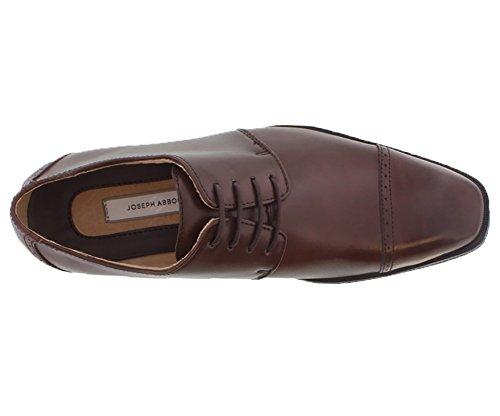 Joseph Abboud 90938 Mens Oxfords Size US 8, Regular Width, Color Brown