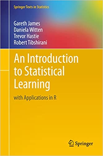 An introduction to statistical learning with applications in R