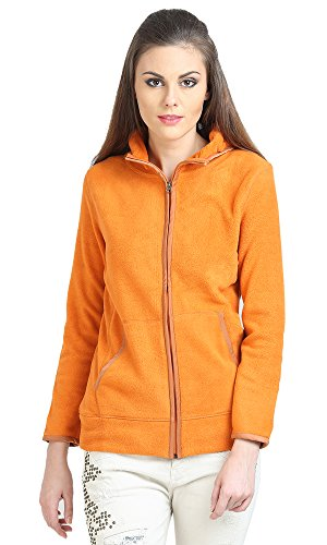 moda elementi Women Full Sleeve Plain Polar Fleece Sweatshirt