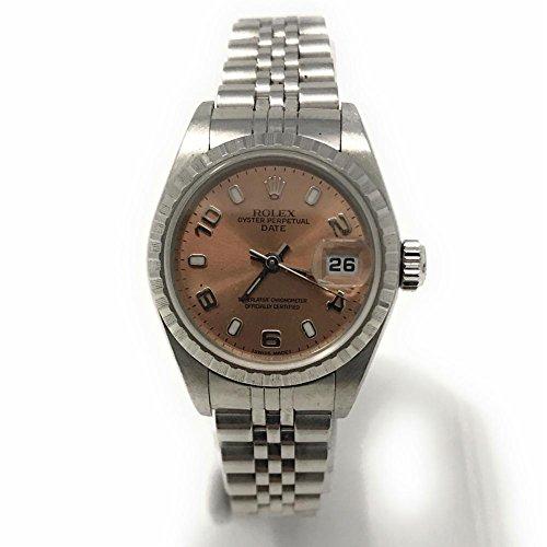 Rolex Date swiss-automatic womens Watch 79240 (Certified (Rolex Pink Watch)