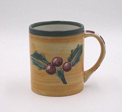 Villelroy & Boch Winterfest Holly Coffee Mug