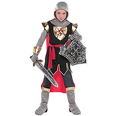 Amscan Brave Crusader Child Knight Costume - Medium (8-10): Toys & Games