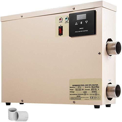 Happybuy 11KW 220V Electric Pool Heater Swimming Pool...