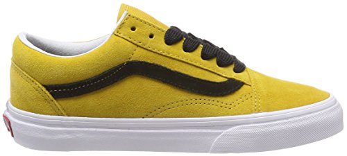 Vans Old Skool, Scarpe Running Unisex-Adulto Giallo (Oversized Lace)