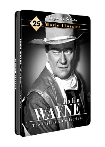 John Wayne: Ultimate Collection 25 Movies - Collectible Tin