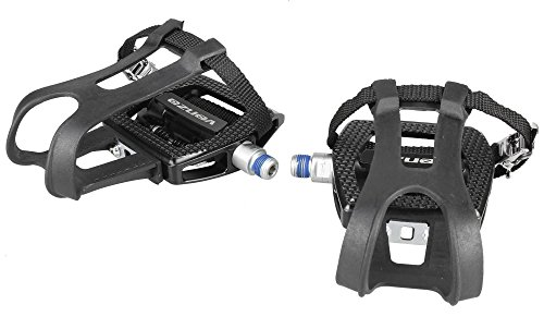 Venzo Fitness Shimano Exercise SPD Compatible Spin Bike Pedals by Venzo