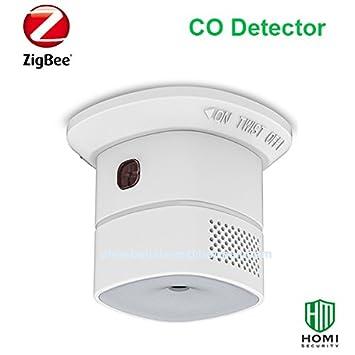 Inalámbrico ZigBee detectores de monóxido de carbono CO detector de: Amazon.es: Bricolaje y herramientas