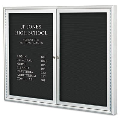 Enclosed Directory Board, 48''w x 36''h, Aluminum Frame, Sold as 1 Each by Best-Rite