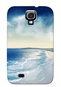 KgLjzTs1986jPhnN Case Cover, Fashionable Galaxy S4 Case - Manipulationdigital Art Artistic Nature Landscapes Beaches Hills Sand Waves Trees Forest Cliff Plants Vegetation