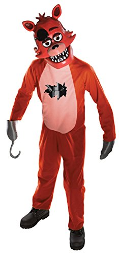 Rubie's Five Nights Child's Value-Priced at Freddy's Foxy Costume, Medium (Five Nights At Freddy's Halloween Mask)