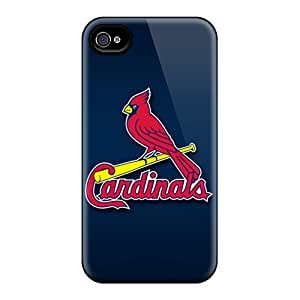 New Style Case Cover AaW1126CPfy St. Louis Cardinals Compatible With Iphone 4/4s Protection Case