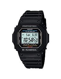Casio G5600E-1de los hombres G-Shock Gris Dial Digital Resistente a Golpes Reloj