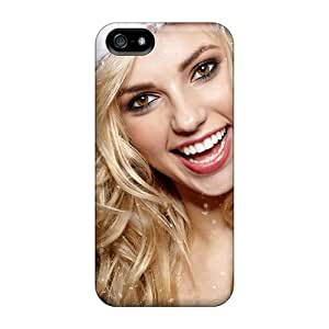Iphone 5/5s Case Cover - Slim Fit Tpu Protector Shock Absorbent Case (holiday Smiles)
