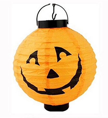 1 Pcs Extreme Popular Halloween LED Nightlight Wall Mount Hanging (Pumpkin Finial)