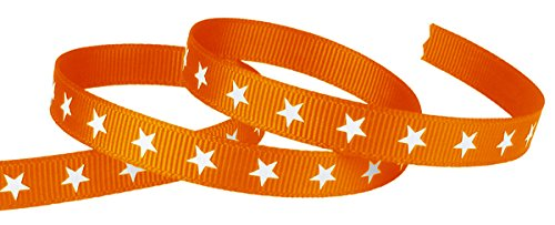 Yds Orange Grosgrain Ribbon - 3