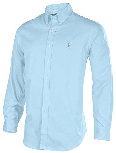 Polo Ralph Lauren Men's Classic Fit Button Down Shirt-Turquoise-16 ...