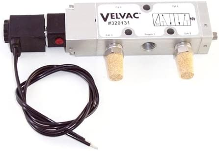 Velvac 320131 Four Way Electronic Solenoid Air Valve