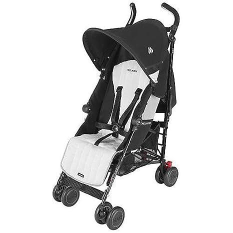 Maclaren Quest Sport - Silla de paseo, color negro y plateado
