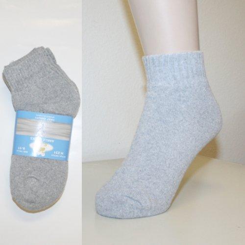 Ddi Swan Women/boys Ankle Grey Socks (pack Of 60) from DDI