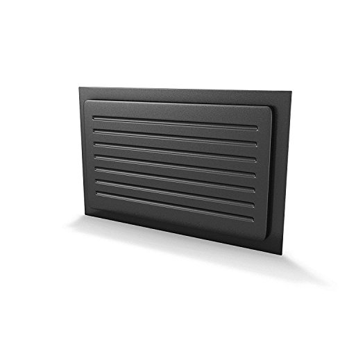 Crawl Space Vent Cover Outward Mounted - Black (13'x21')