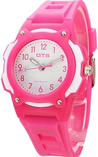 スポーツデジタル腕時計女の子防水かわいいwatch-d