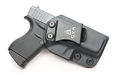 CYA Supply Co. IWB Holster Fits: Glock 43 - Veteran Owned Company - Made in USA - Inside Waistband Concealed Carry Holster