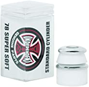Independent Standard Cylinder Cushions White Skateboard Bushings - 2 Pair with Washers - 78a