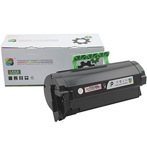 10,000 page Caire(TM) High Yield Compatible Replacement Lexmark MX310, MX410, MX510, MX511, MX610, MX611 Toner Cartridge supplier