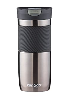 Contigo SnapSeal Byron Vacuum-Insulated Stainless Steel Travel Mug, 16 oz, Gunmetal (B00IR77HMW) | Amazon price tracker / tracking, Amazon price history charts, Amazon price watches, Amazon price drop alerts