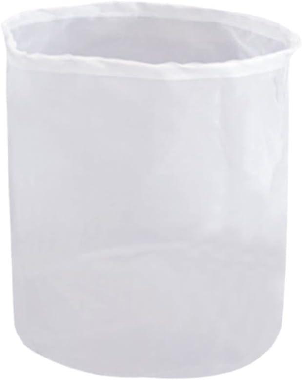 "CONIE 75 Micron Nylon Straining Brew Bag for Beer Wine Making Food Grade Filter Bag Nut Milk Bag 18""x24"""