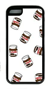 Nutella Pattern iphone 6 4.7 Rubber Shell with Black Edges Cover Case by Lilyshouse