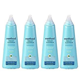 Method Antibacterial Toilet Bowl Cleaner - Spearmint - 24 oz - 4 Pack