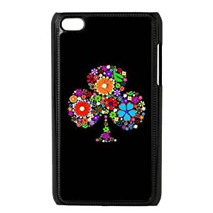 Ipod Touch 4 Phone Case for Flowers pattern design