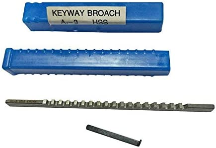 2mm I Keyway Broach Metric