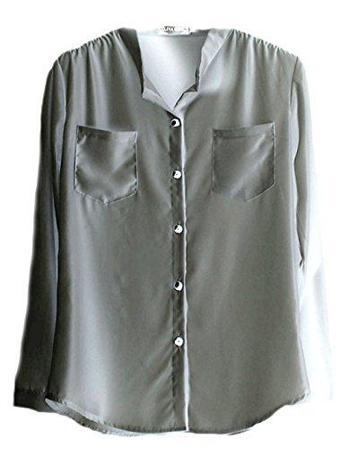 Vian Lundgaard - Camisas - para mujer Verde