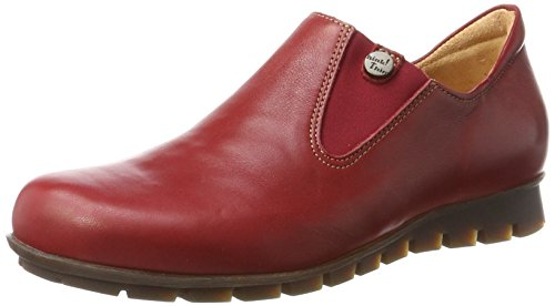 Red Menscha Loafers 72 Rosso Think Kombi Women's qg4FOO