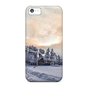 meilz aiaiFirst-class Cases Covers For iphone 6 plus 5.5 inch Dual Protection Covers Winter's Pathmeilz aiai