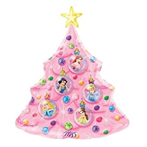 Amazon.com: Disney Princess Christmas Tree Balloon: Home & Kitchen