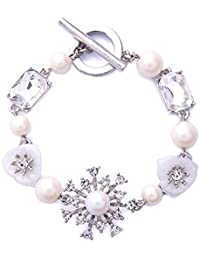 Multilayer Bohemian Beaded Bracelet Crystal Pendant Charm...