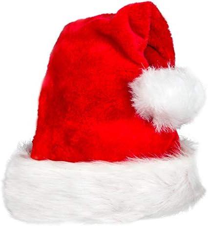 Almmy.6 サンタ帽 選べる枚数 ふかふか ボンボンも大き目 フリーサイズ 男女兼用 (1枚)