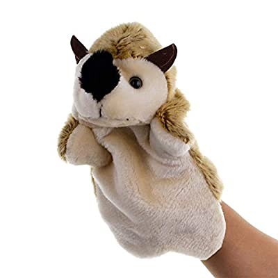 shlutesoy Lovely Hedgehog Animal Doll Plush Sleeve Hand Puppet Storytelling Toy Kids Education Toy Pillow: Home & Kitchen