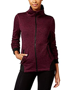 Calvin Klein Performance Women's Sweater Fleece Jacket