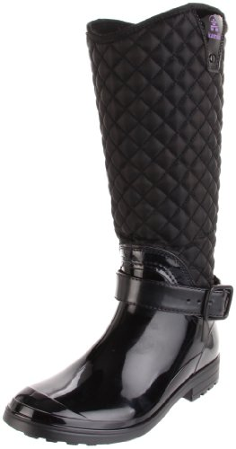 Kamik Women's Alexandra Insulated Rain Boot,Black,9 M US