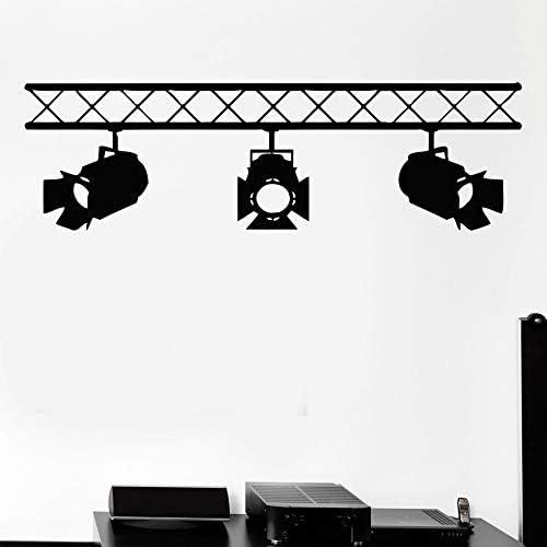 hllhpc Studio Salon Interior Cine Cinematografía Mural Arte ...